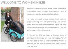 Finally, we are live with a new online universe for busy career women. Thanks to all the fantastic women who contributes with articles.