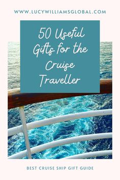 50 Useful Gifts for the Cruise Traveller - Lucy Williams Global Best Cruise, Cruise Tips, Cruise Travel, Cruise Vacation, Solo Travel, Travel Usa, Cruise Pictures, Travel Pictures, Travel Advice