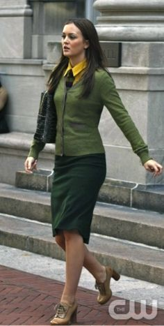 Blair Waldorf's style on Gossip Girl