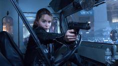 Terminator Genisys: Emilia Clarke talks 'being naked in a harness' Terminator Genisys  #TerminatorGenisys