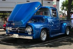 1956 Ford F100 ..Re-pin...Brought to you by #CarInsurance at #HouseofInsurance in #Eugene, Oregon