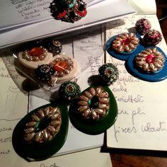 Work in progress for new selection...@bluepointfirenze  #bpf #bluepoinfirenze #instaglamour #followus #love #seguiteci #bigiotteria #collection #stile #accessorizes #flowers #bijouxdellanno #mipiace #style #argento #like #gioielli #likeit #tendenza #moda #instafashion #beautiful #fashion #jewels #glamour #tag #likes #tagforlikes #newcollection #me #novità #firenzebijoux #accessorimoda #cool #bijoux #accessorifashion #new #accessori #musthave #orecchini