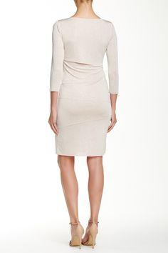 3/4 Length Sleeve Tiered Dress  by Tahari on @nordstrom_rack