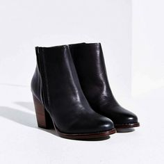 Silence + Noise Half-Stacked Heeled Ankle Boot ($79)