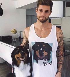 Guys custom pet vest
