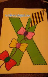 ΤΟ Χ ΤΟΥ ΧΑΡΤΑΕΤΟΥ Kindergarten Crafts, Kite, Language, Letters, Education, School, Blog, Grammar, Greek