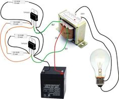 Simple Inverter Circuit Diagram - Electrical Blog