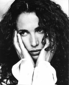 Andie MacDowell I think she's one of the most beautiful women in the world