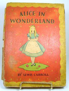 Alice in Wonderland Alices Adventures in Wonderland by jillsgems1, $20.00