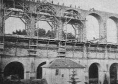 1870 (env.) Construction de l'aqueduc de la Vanne Imposé par le Baron Hausmann, conçu et réalisé par l'ingénieur Belgrand