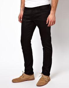 €84, Schwarze Enge Jeans von Edwin. Online-Shop: Asos. Klicken Sie hier für mehr Informationen: https://lookastic.com/men/shop_items/140065/redirect