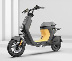 Electric Moped Scooter, Scooter Motorcycle, Electric Bicycle, Electric Cars, Electric Bike Motor, Moped Bike, Cargo Bike, Scooter Design, Bike Design