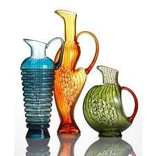 """Shop for Corfu"""" Pitcher Collection by Kosta Boda at ShopStyle. Cut Glass, Glass Art, The Big Comfy Couch, Kosta Boda, Glass Vessel, Glass Design, Crystal Design, Glass Ornaments, Decorative Objects"""