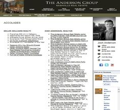 (The Anderson Group: Accolades)