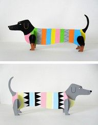illustrations from Swedish illustrator Karin Soderquist Cardboard Animals, Cardboard Crafts, Paper Crafts, Projects For Kids, Art Projects, Classe D'art, Art Lesson Plans, Recycled Art, Art Classroom