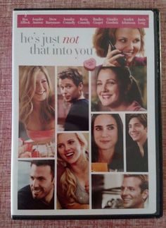 He's Just Not That Into You (DVD, 2009) Ben Affleck, Jennifer Aniston, Barrymore