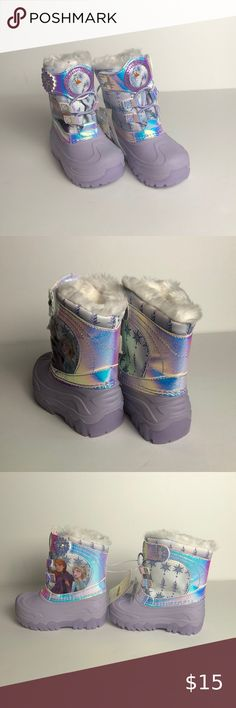 NEW frozen snow anna dress cosplay costume boots boot shoes shoe Z.68