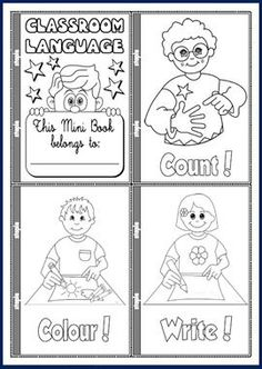 Classroom Language - Teach English Step By Step English Primary School, Teach English To Kids, English Classroom, Teaching English, Learn English, Classroom Rules, Classroom Language, Classroom Activities, Classroom Commands