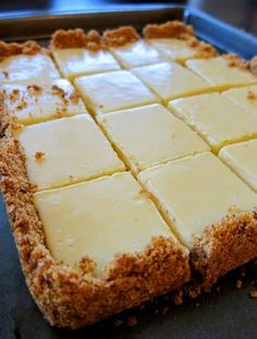 """Creamy Lime Squares   """"These Look Amazing.,Yummy and Delicious!"""""""