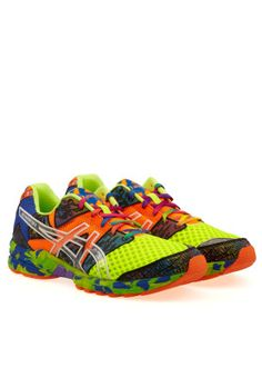 Add some funkiness to your sportswear collection with the Gel Noosa Tri 8 running shoes from Asics. Available via www.namshi.com