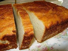Oooh, Coconut Pound Cake. Gluten free, grain free, and dairy free--the trifecta! Plus, paleo friendly if you sometimes use honey.