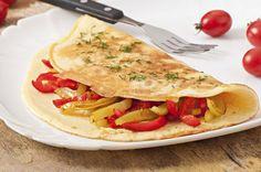 Diy Omelette sin aceite