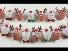 Advent calendars tinker with children - 10 craft ideas with instructions - Basteln mit kindern - Christmas Crib Ideas, Church Christmas Decorations, Diy Christmas Gifts For Kids, Christmas Countdown, Xmas Crafts, Diy Christmas Ornaments, Halloween Crafts, Diy For Kids, Crafts For Kids