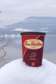 Tim Hortons Every Cup Story - Warming Up A Winters Chill