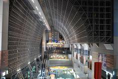 Kyoto Station 京都駅 12 by scarletgreen, via Flickr
