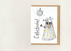 The more Paisley Five cards you buy the bigger the discount AND combined shipping has already been calculated = extra savings. Purchase 2 to 100 cards here… Dr Who Birthday Card, Funny Birthday Cards, Otter Birthday, Sympathy Cards, Greeting Cards, Mothersday Cards, Dalek, Congratulations Card, Animal Cards