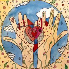 Cassia Cogger Story Circles - Love | a free intro to the Story Circle e-course / cassiacoggermandala