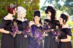 Purple Wedding Gothic