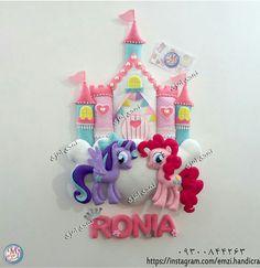 Felt Crafts Dolls, Foam Crafts, Baby Crafts, Cute Crafts, Craft Stick Crafts, Diy And Crafts, Felt Doll House, Unicorn Wall Art, Felt Banner
