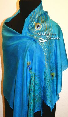 Silk Scarves Colorado-Awesome Etsy store with hand painted silk scarves. Absolutely beautiful!