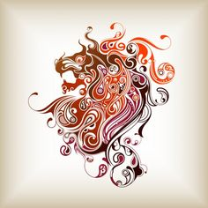 Abstract Lion 500x500 abstract tattoo design art flash pictures ...