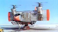 Hiller X-18, 1959