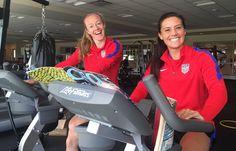 U.S WNT back in training! #RoadtoRio