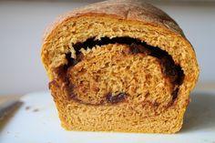 pumpkin spice raisin bread