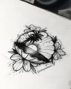 me the para tatuar! Kitsune Tattoo - Bc me the para tatuar! Beach Theme Tattoos, Ocean Tattoos, Body Art Tattoos, Tattoo Drawings, Small Tattoos, Sleeve Tattoos, Cool Tattoos, Octopus Tattoos, Awesome Tattoos