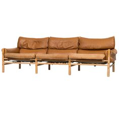 Arne Norell Kontiki sofa by Arne Norell AB in Aneby, Sweden | From a unique collection of antique and modern sofas at https://www.1stdibs.com/furniture/seating/sofas/