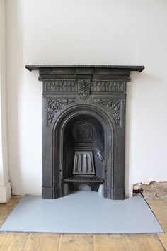 Victorian Bedroom Fireplace With Painted Hearth Www Kezzabeth Co Uk
