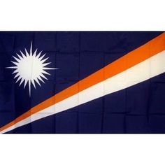 Marshall Islands Country Traditional Flag