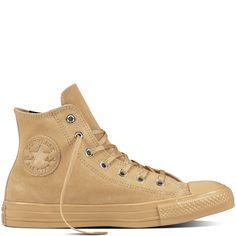 89845d1c7149 Converse béžové kožené topánky Chuck Taylor All Star Light Fawn