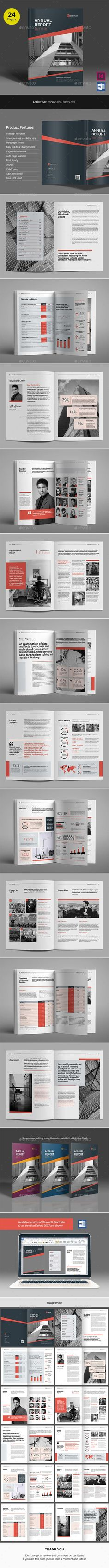 Daleman Annual Report v02 - Corporate Brochures