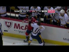Epic Tom Wilson fight from the game we attended on 12/7/13. #tomwilson #capitals