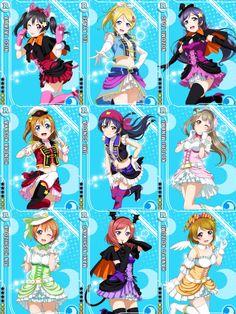 Idolised Dancing Stars on Me Card Set