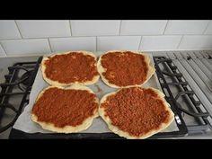 پیتزا ترکی - YouTube Kurdish Food, Griddle Pan, Grapefruit, Grill Pan