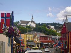 "This is my Home town...Poulsbo, Wa❤ ""Little Norway""....very proud to be from  A Scandinavian family."