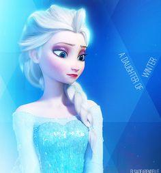 Elsa, A daughter of winter