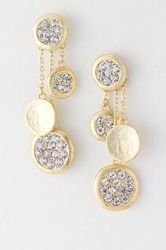 Gold Silvia Chandelier Earrings